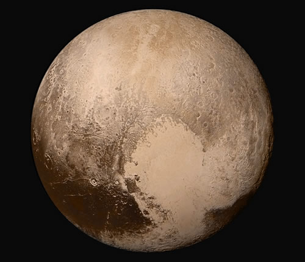 imagen planeta pluton: